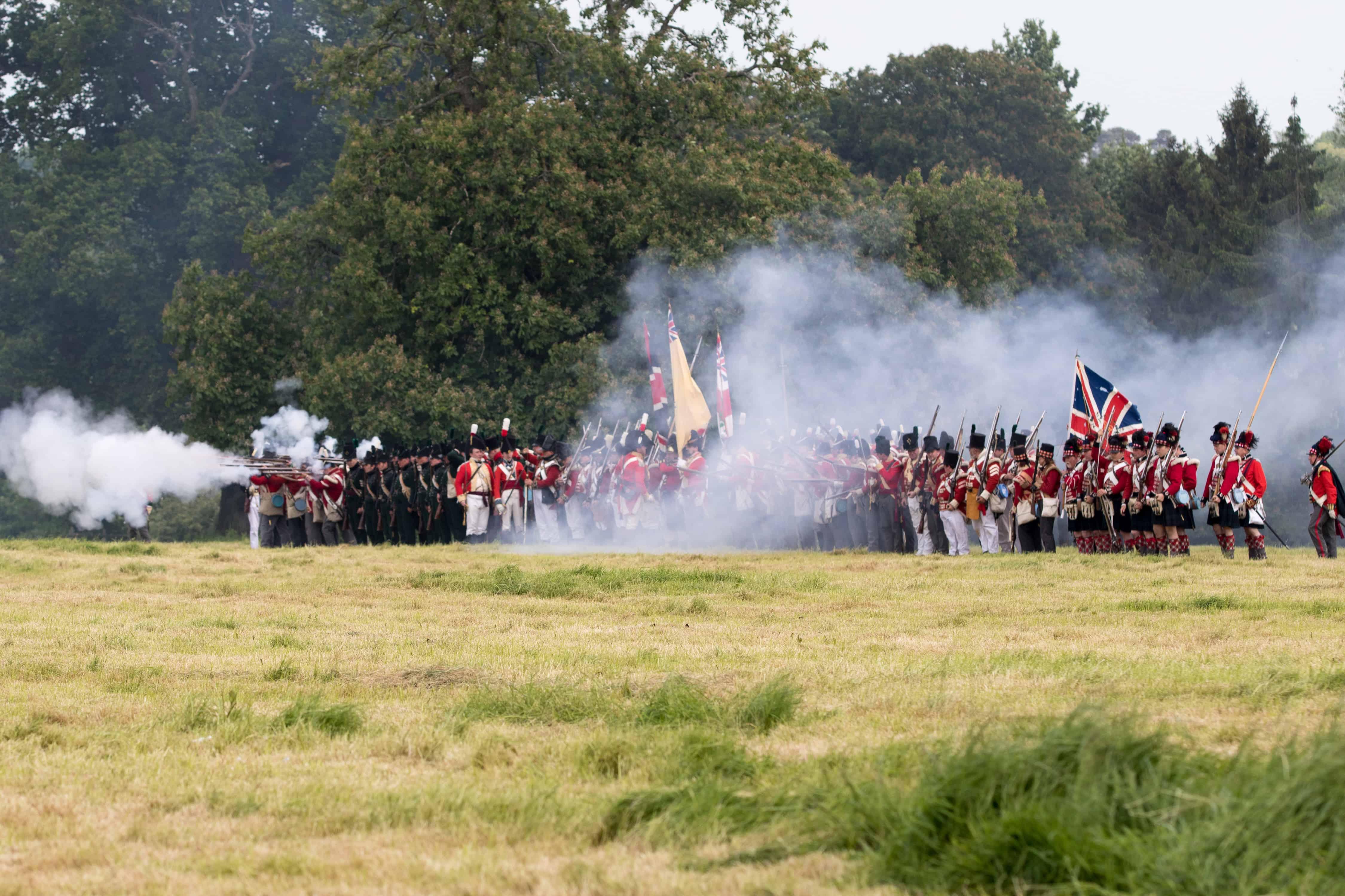 Napoleonic Reenactment Battle (002)
