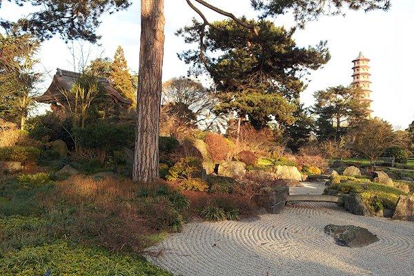 Japanese Garden at the Royal Botanic Gardens, Kew